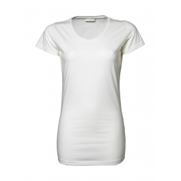 T-shirt Femme Stretch Extra Long Tee Jays 455