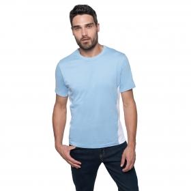 "T-Shirt Bicolore Manches Courtes ""Tiger"" Kariban K340"