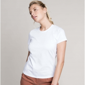 T-Shirt Col Rond Manches Courtes Femme Kariban K380