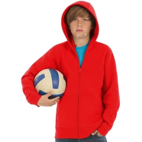 Sweat-shirt enfant capuche zippé B&C Hooded Full Zip Kids WK682 B&C Collection WK682