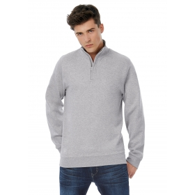 Sweat col 1/4 zip Camioneur B&C B&C Collection WUI22