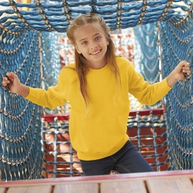 Classic Set-In Sweat Kids Fruit of the Loom 62-041-0