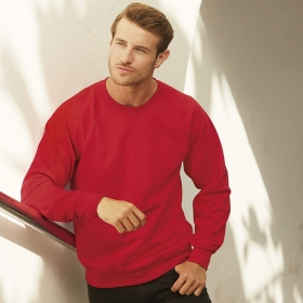 Lightweight Raglan Sweat Fruit of the Loom 62-138-0