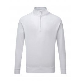 Sweatshirt 1/4 Zip 65/35 Polyester Coton Russell R-282M-0