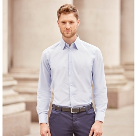 Chemise Manches Longues En Oxford Russell R-922M-0