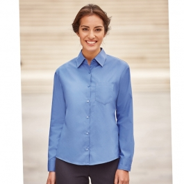Chemise Femme Manches Longues En Popeline Russell R-936F-0